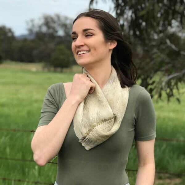 bush dyed cowl