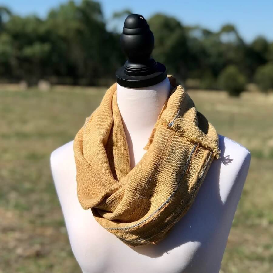 Wide Bush Dyed Cowl