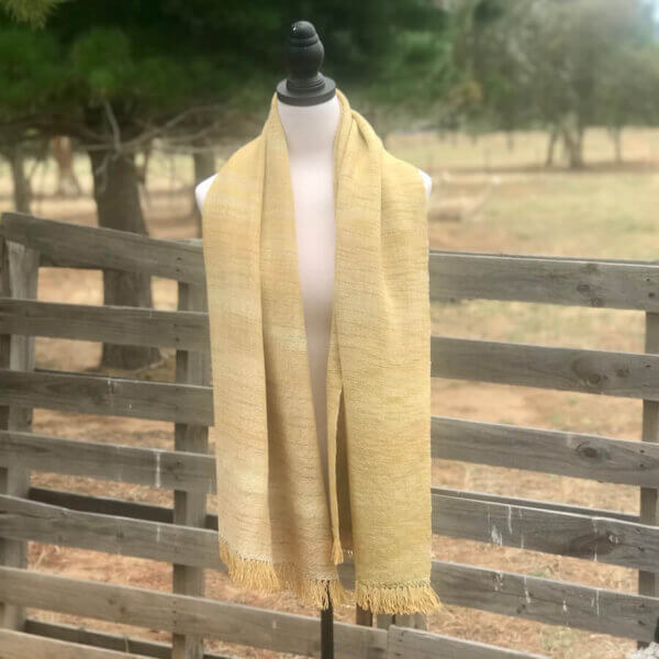 Variegated, Sandy Yellow Wrap