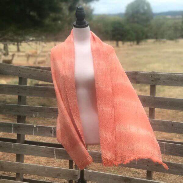 Variegated, Dusky Orange Wrap