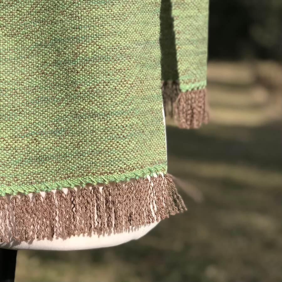 moss green scarf